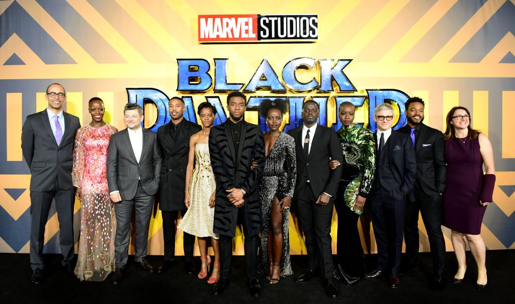 The cast and crew of 'Black Panther'