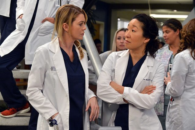 'Grey's Anatomy' stars Ellen Pompeo and Sandra Oh