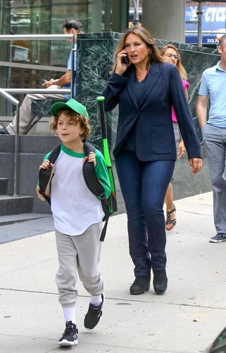 Mariska Hargitay and Ryan Buggle