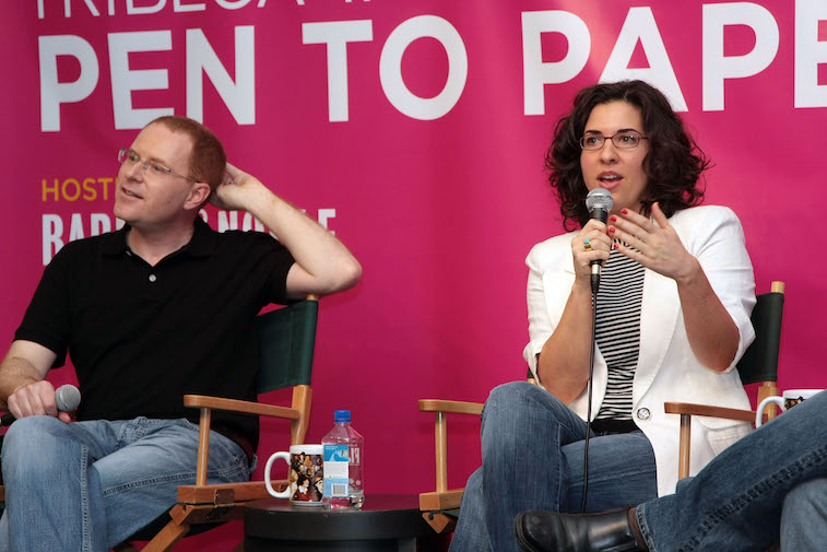 Filmmakers Conor McPherson and Jac Schaeffer
