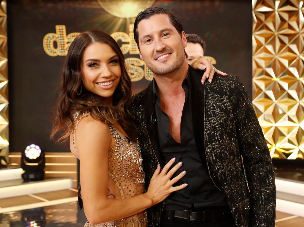 Jenna Johnson and Val Chmerkovskiy of 'Dancing with the Stars'