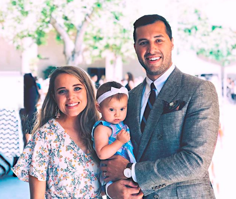 Jinger Duggar and Jeremy Vuolo with Felicity