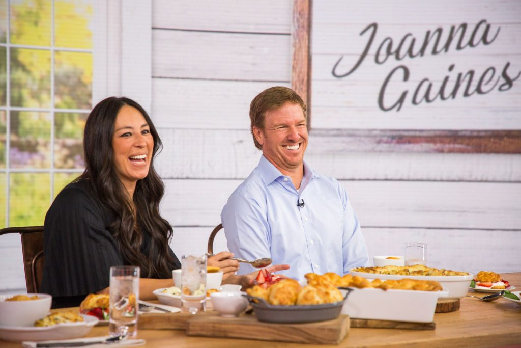 Joanna and Chip Gaines on the Today Show | Nathan Congleton/NBC/NBCU Photo Bank via Getty Images
