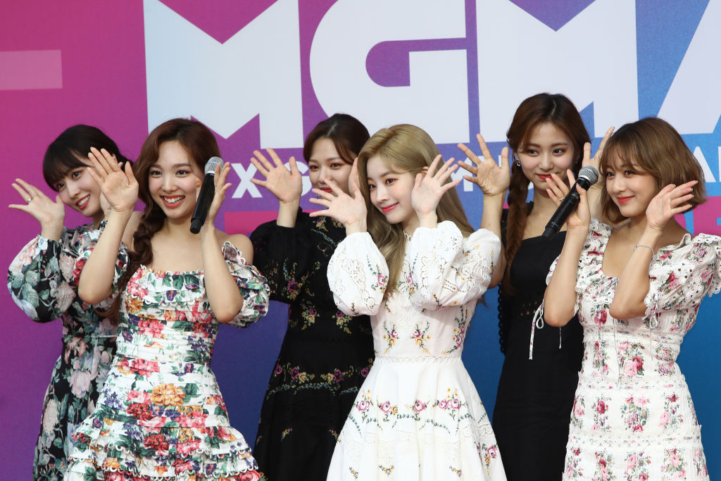 K-pop group TWICE