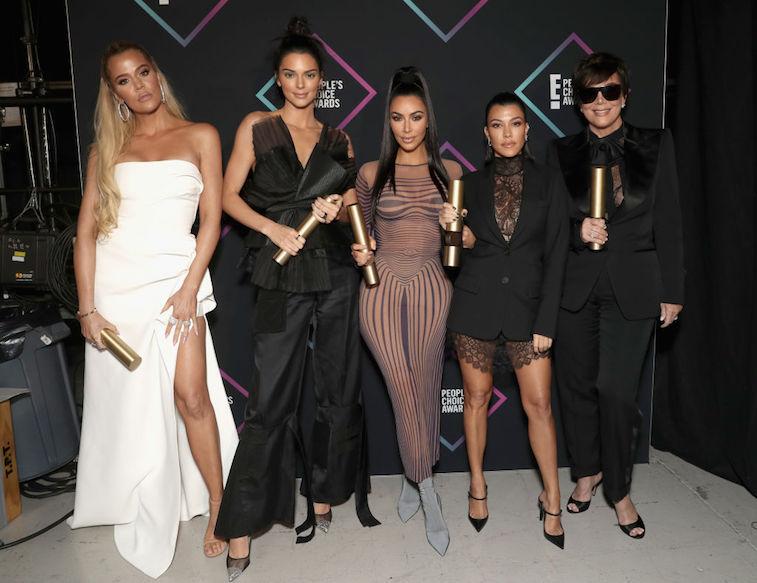 Kardashian-Jenner women