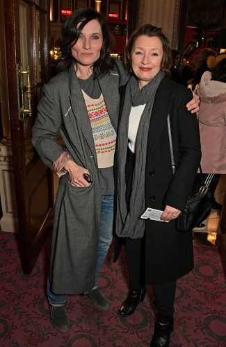 Kate Fleetwood and Lesley Manville