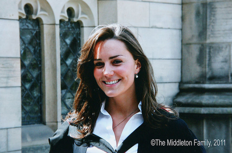 Kate Middleton college graduation