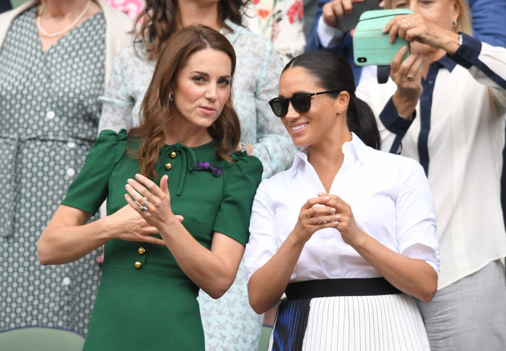 Kate Middleton and Meghan Markle feud