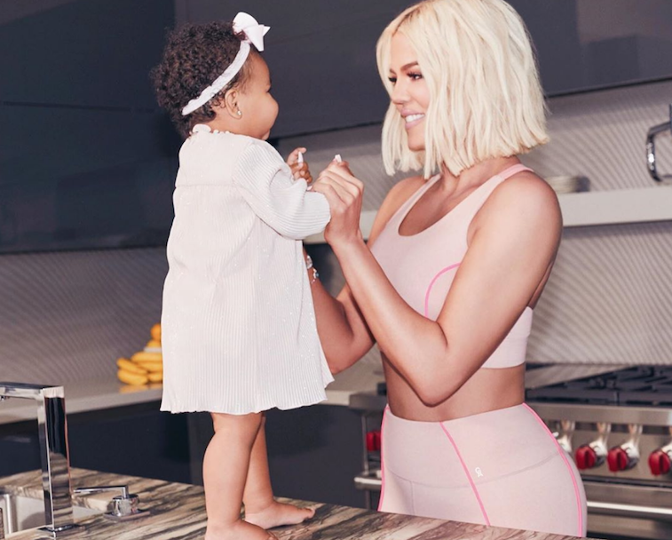 Khloé Kardashian and her daughter, True Thompson