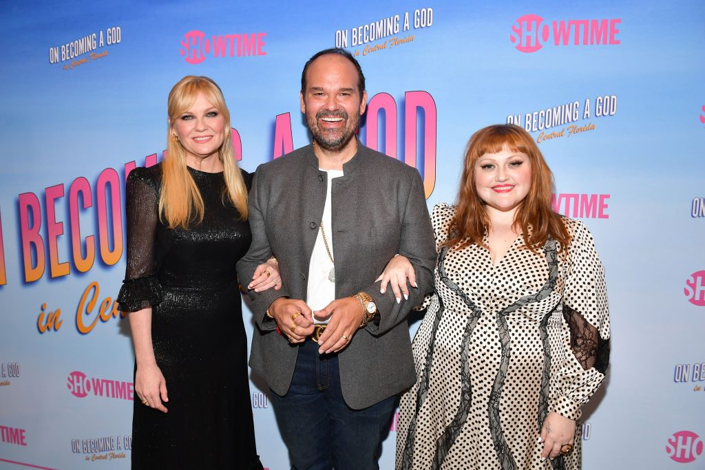Kirsten Dunst, Mel Rodriguez and Beth Ditto