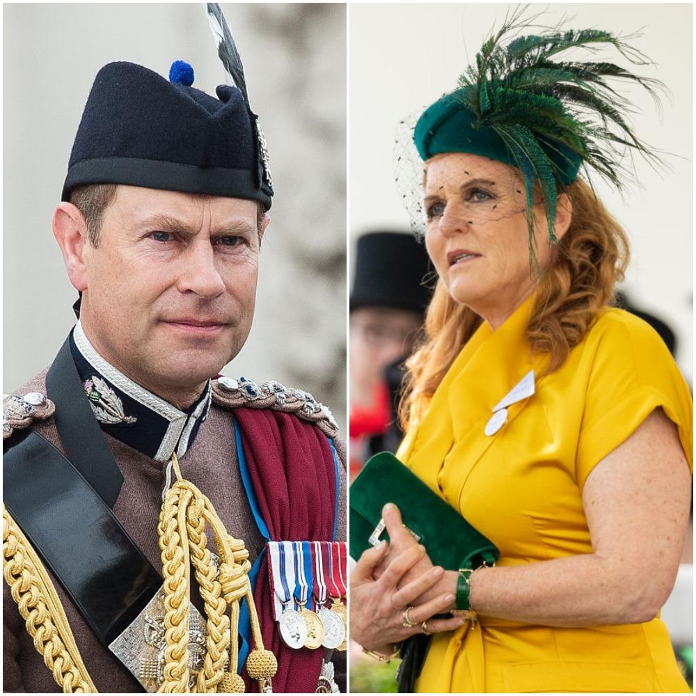 (L): Prince Edward, (R): Sarah Ferguson
