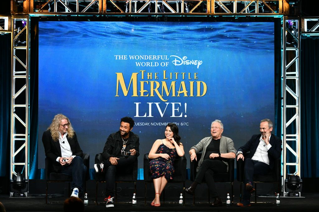 Life Is the Bubbles! A Live Special of 'The Little Mermaid' Is