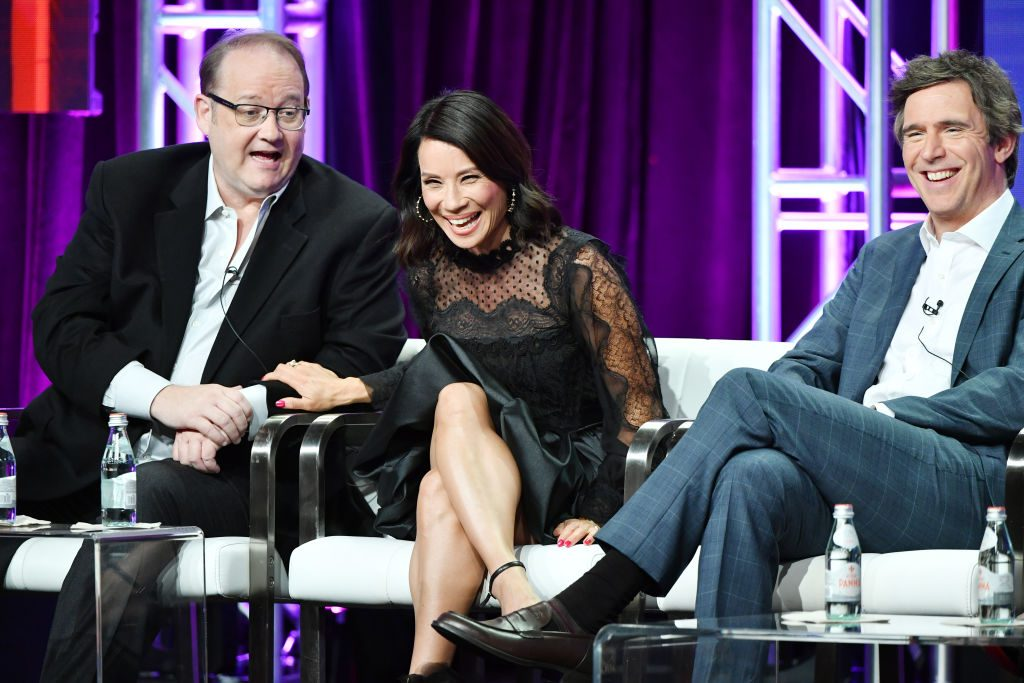 Marc Cherry, Lucy Liu and Jack Davenport
