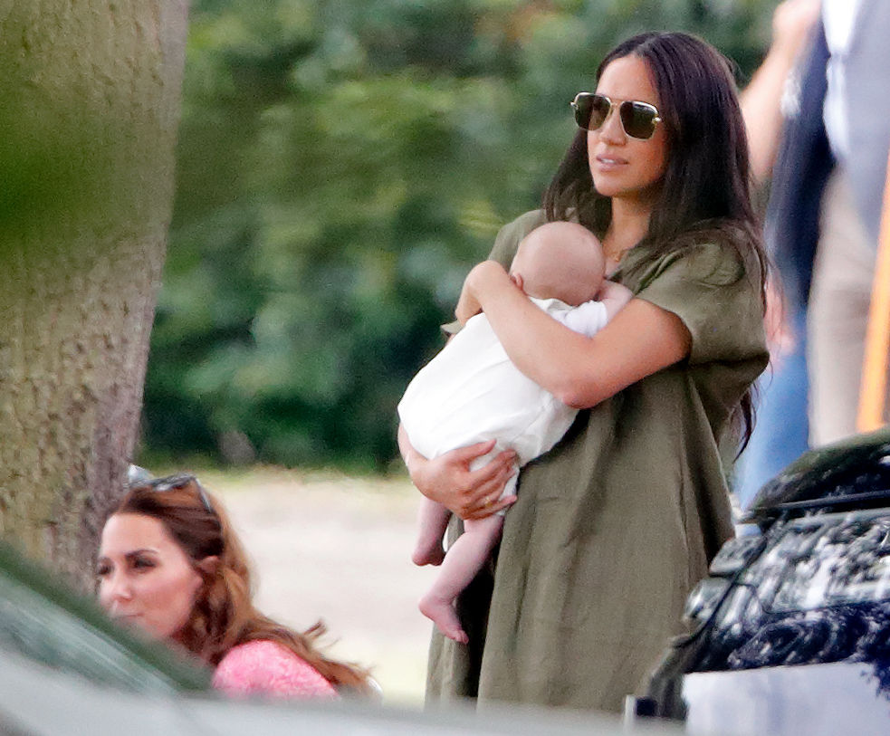 Meghan Markle and Archie