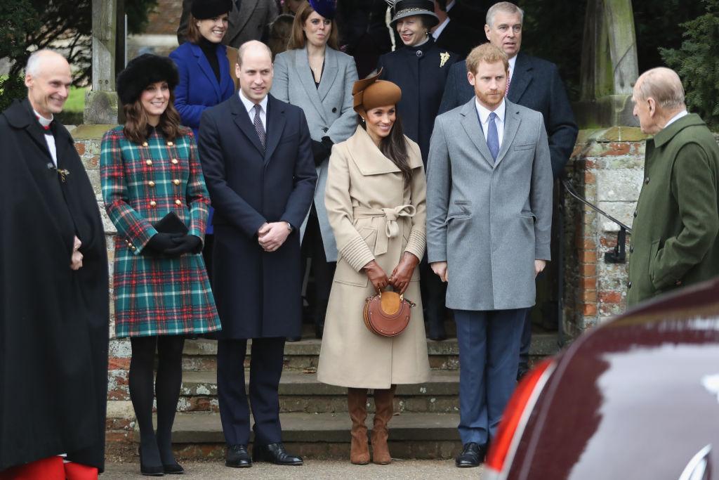 Royal family Christmas 2017