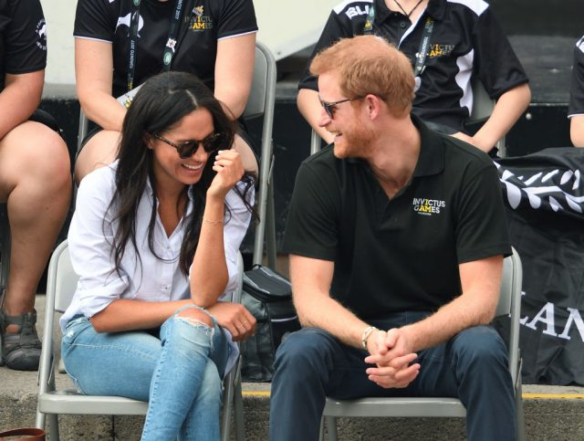 Meghan Markle wore ripped jeans with Prince Harry at their first public appearance
