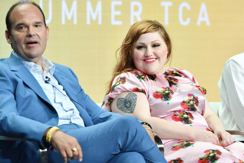 Mel Rodriguez and Beth Ditto