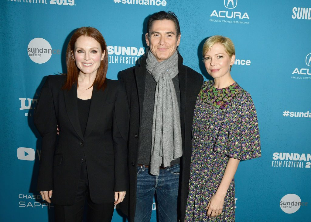 Michelle Williams, Julianne Moore and Billy Crudup