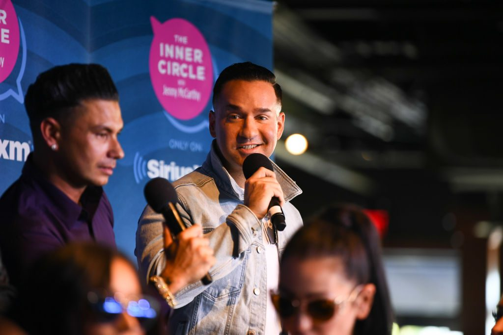 Mike 'The Situation' Sorrentino and  Paul DelVecchio of 'Jersey Shore'