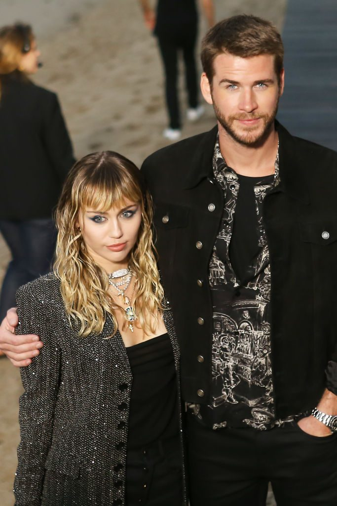 Miley Cryus and Liam Hemsworth