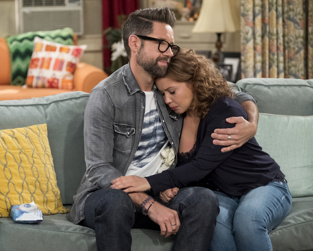 Todd Grinnell and Justina Machado