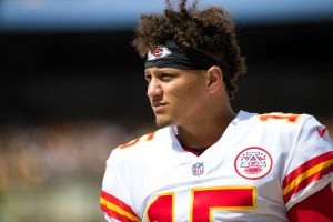 Patrick Mahomes Is Obsessed With Shoes in His New House