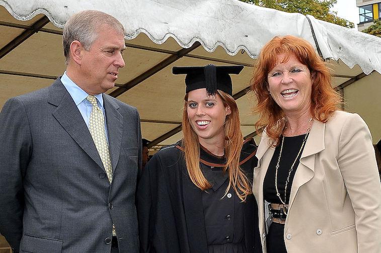 Prince Andrew, Sarah Ferguson, Princess Beatrice