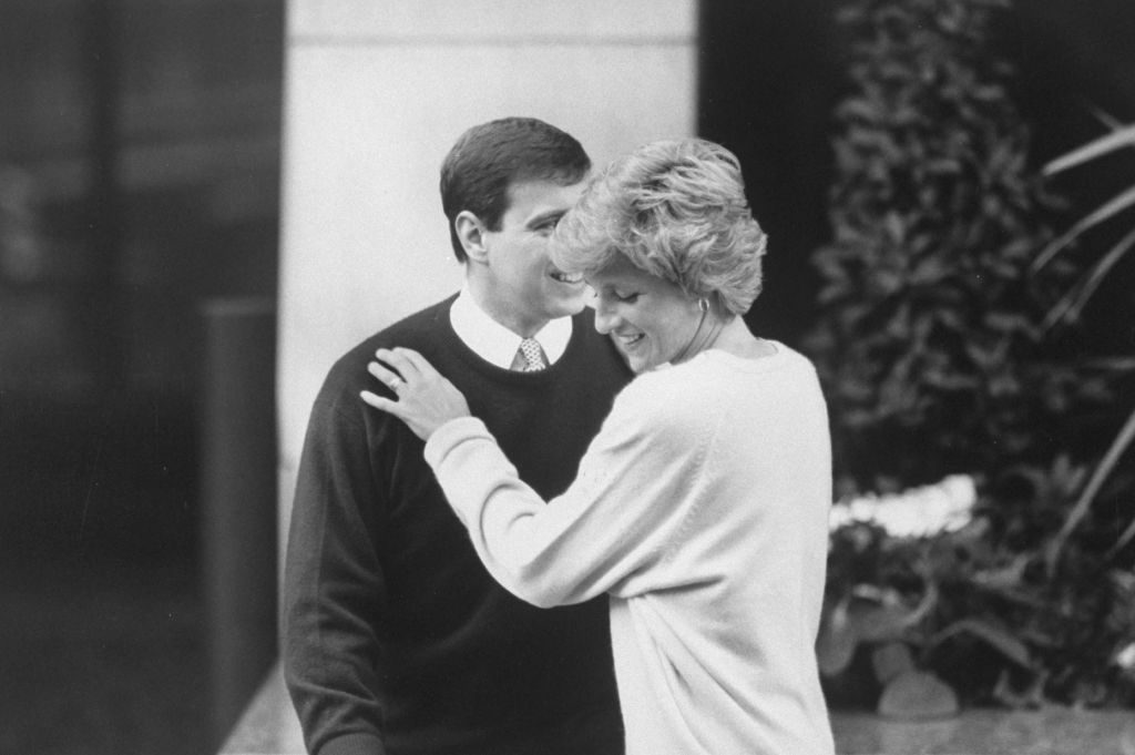 Prince Andrew and Princess Diana