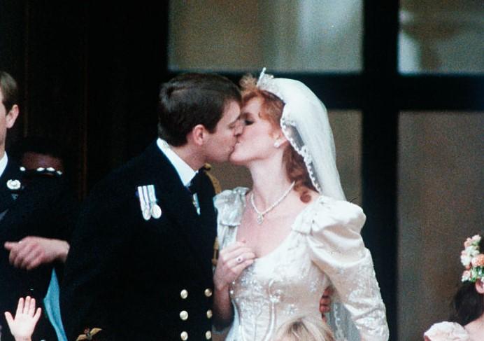 Prince Andrew and Sarah Ferguson wedding
