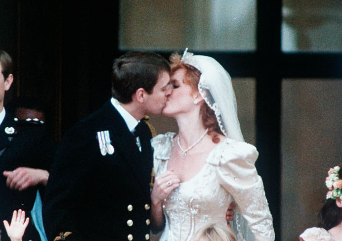 Prince Andrew and Sarah Ferguson wedding