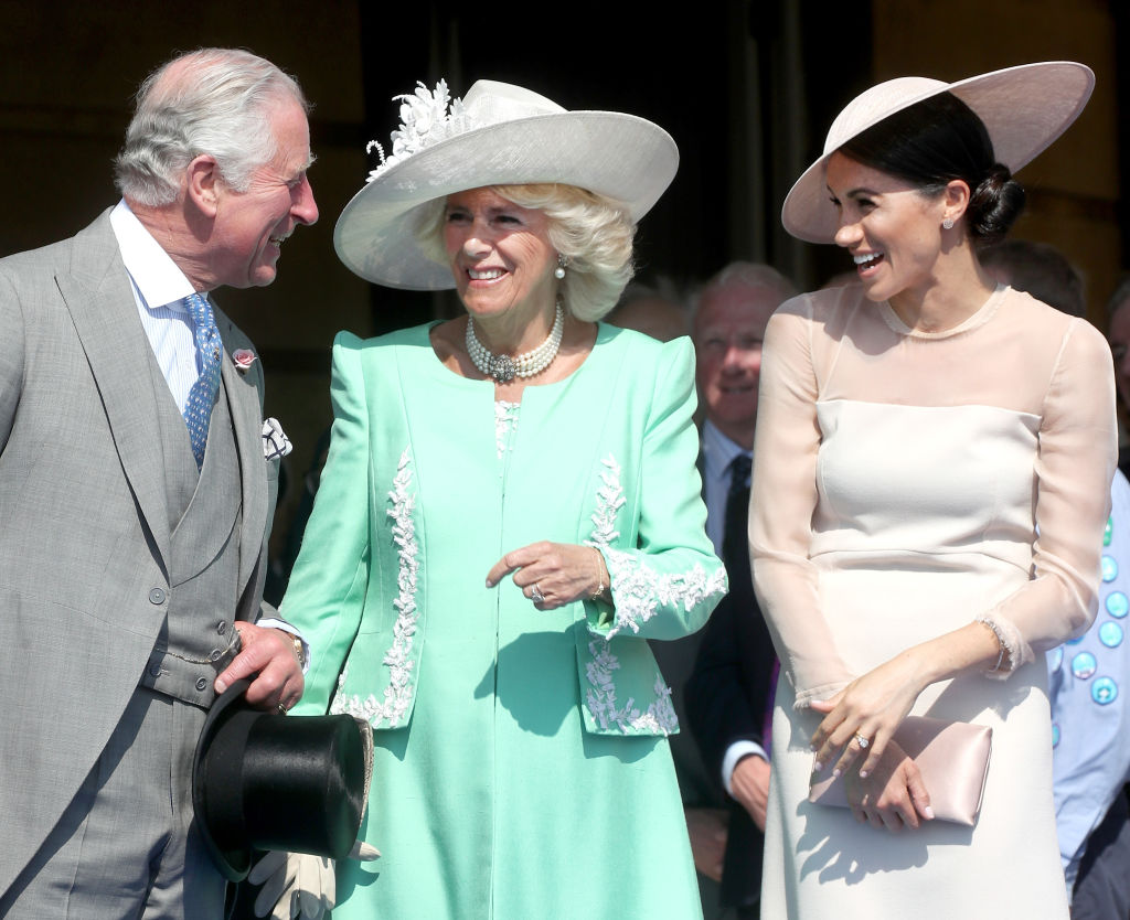 Prince Charles, Camilla Parker Bowles, and Meghan Markle