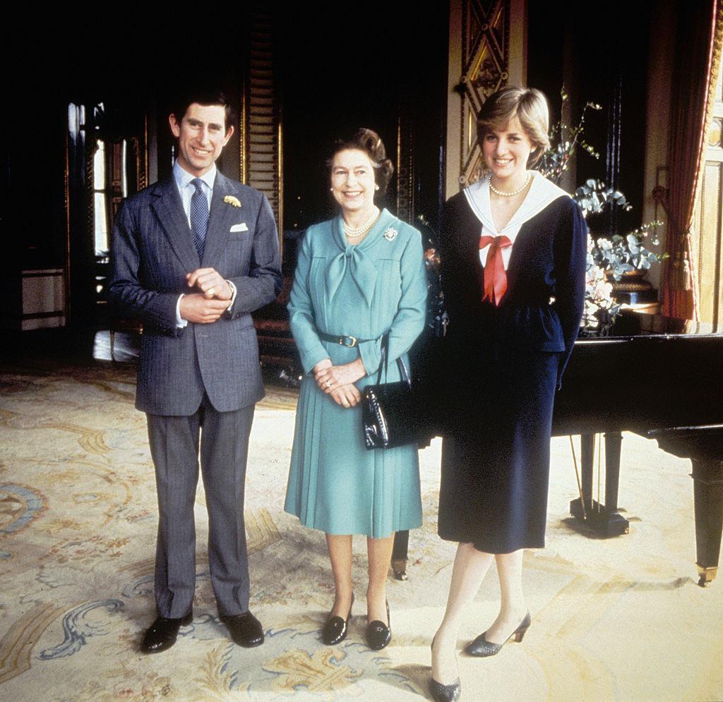 Queen Elizabeth Prince Charles Princess Diana