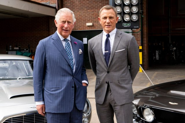 Prince Charles and 'James Bond' star Daniel Craig