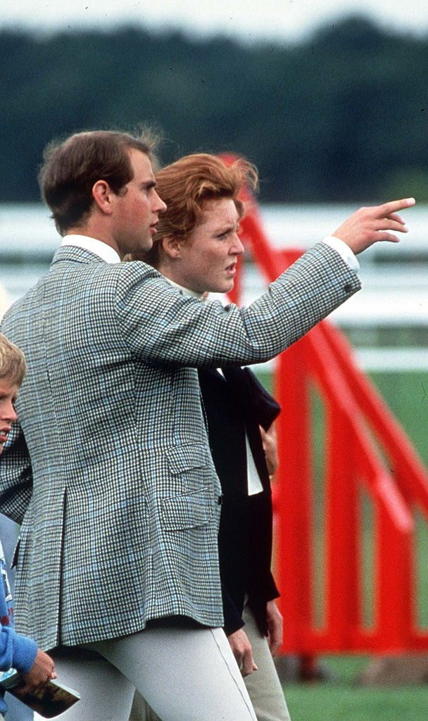 Sarah Ferguson and Prince Edward