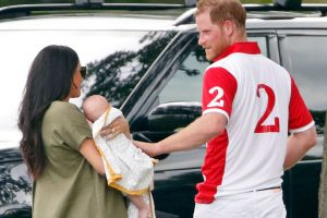 Baby Archie Reportedly Looks Just Like Prince Harry, With 'Reddish Hair'