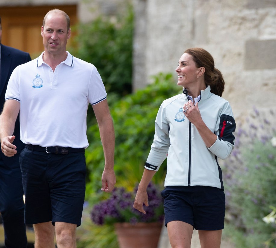 Prince George ate his first ant at Kate Middleton's sailing regatta