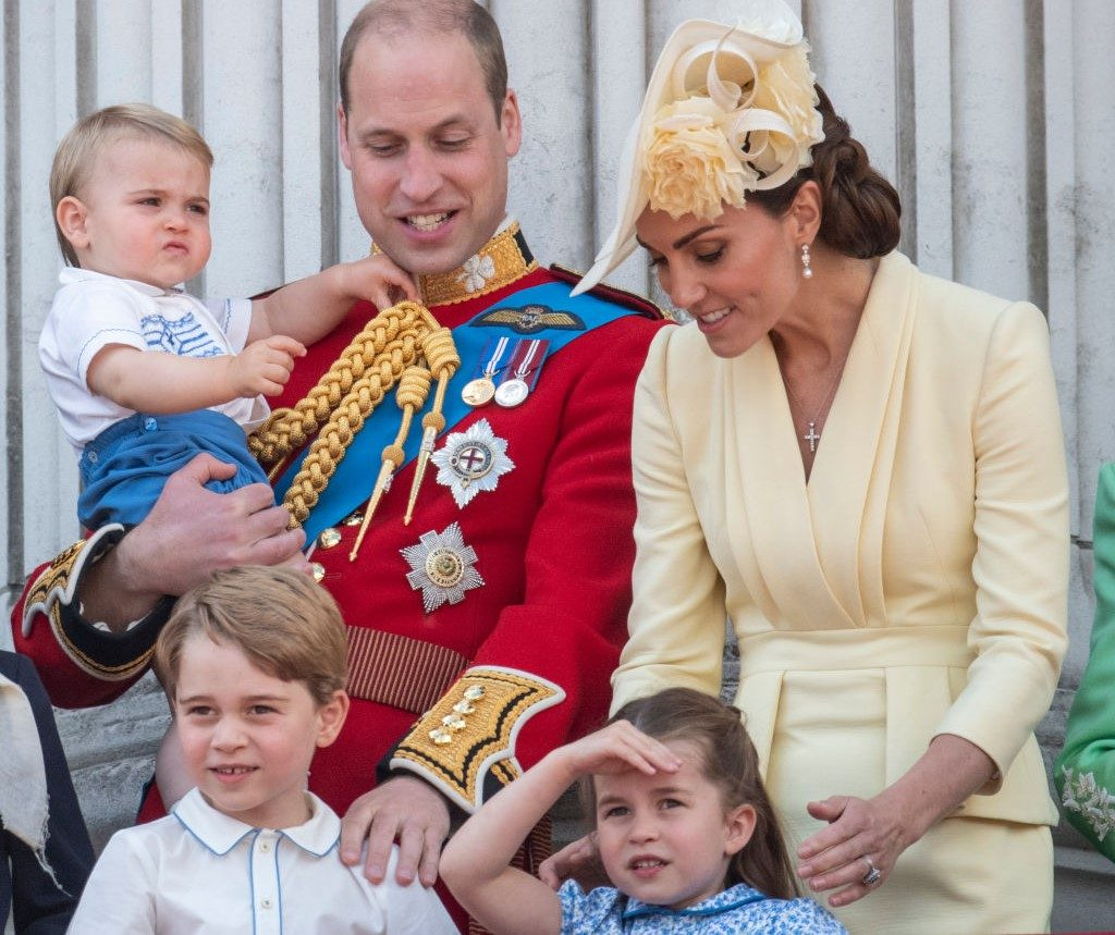Prince William and Kate Middleton with George, Charlotte, and Louis