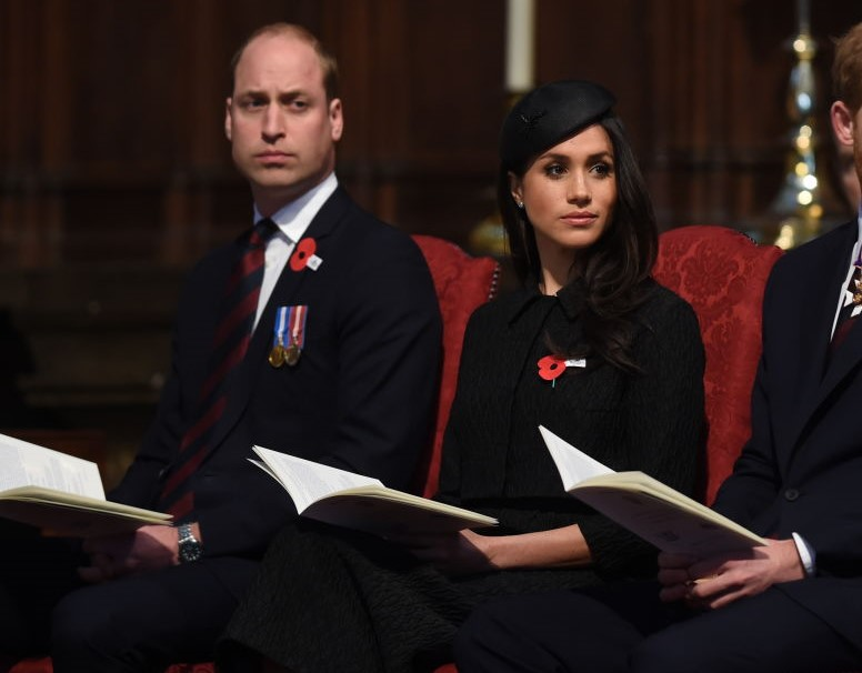 Prince William and Meghan Markle