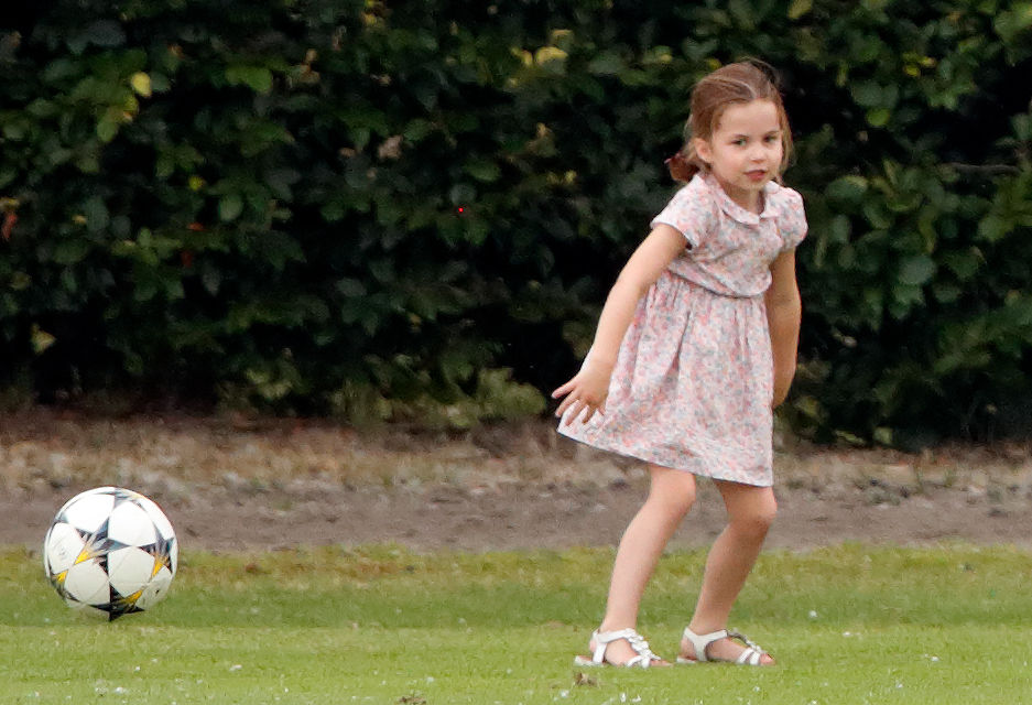 Princess Charlotte daughter of Kate Middleton