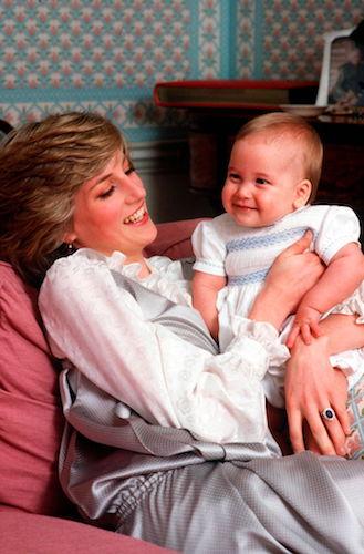 Princess Diana Prince William 1983