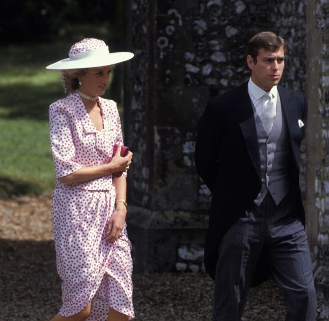 Princess Diana and Prince Andrew