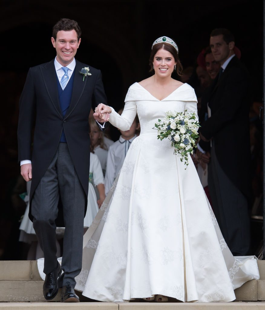 Princess Eugenie's wedding day
