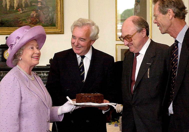 Queen Elizabeth in 2001