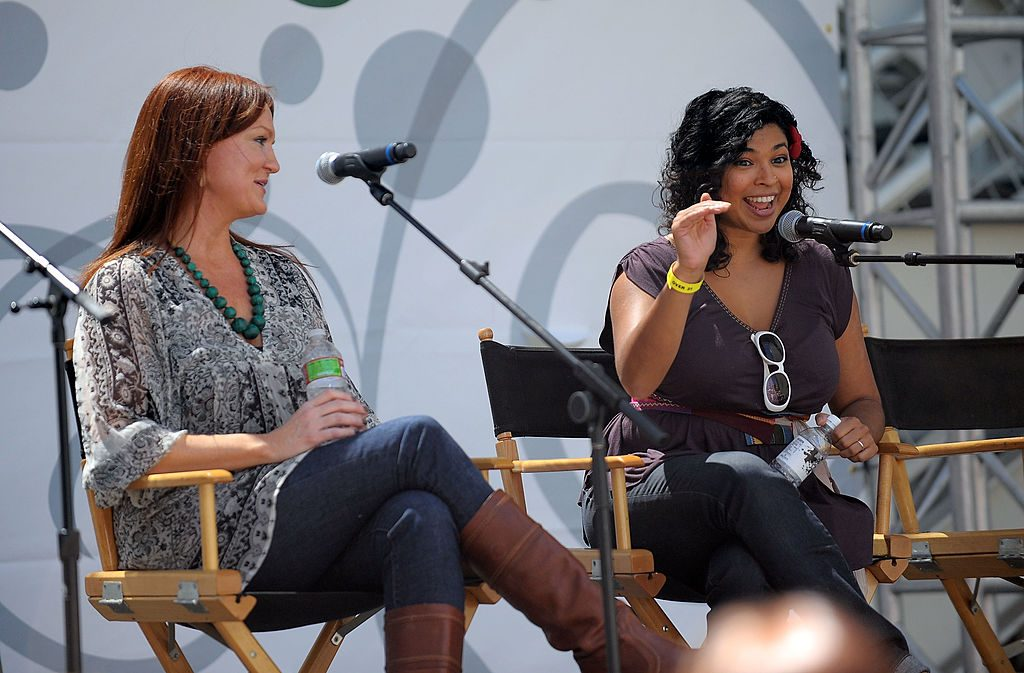 Food bloggers Ree Drummond (L) and Aarti Sequeira particiate in the 'Food Blogging & Beyond' panel at the LA Times Celebration of Food & Wine at Paramount Studio   Charley Gallay/Getty Images for LA Times