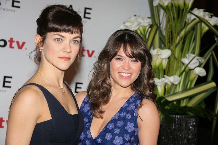 Olivia Ross and Sabrina Bartlett