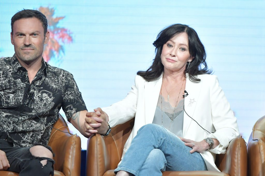 Shannen Doherty and Brian Austin Green