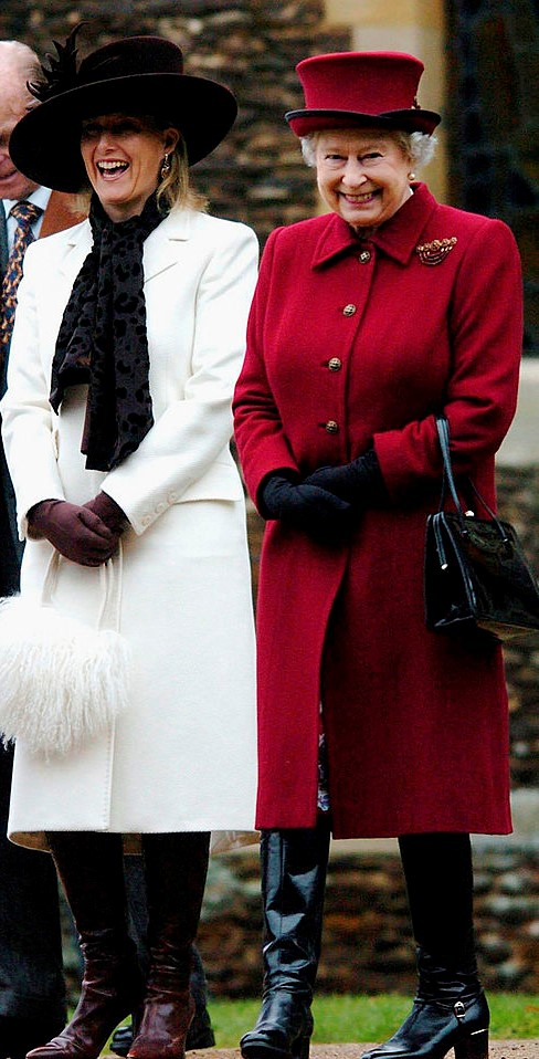 Sophie, Countess of Wessex and Queen Elizabeth II
