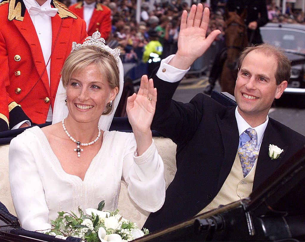 Prince Edward And Sophie's wedding