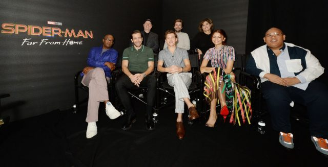 'Spider-Man: Far From Home' cast