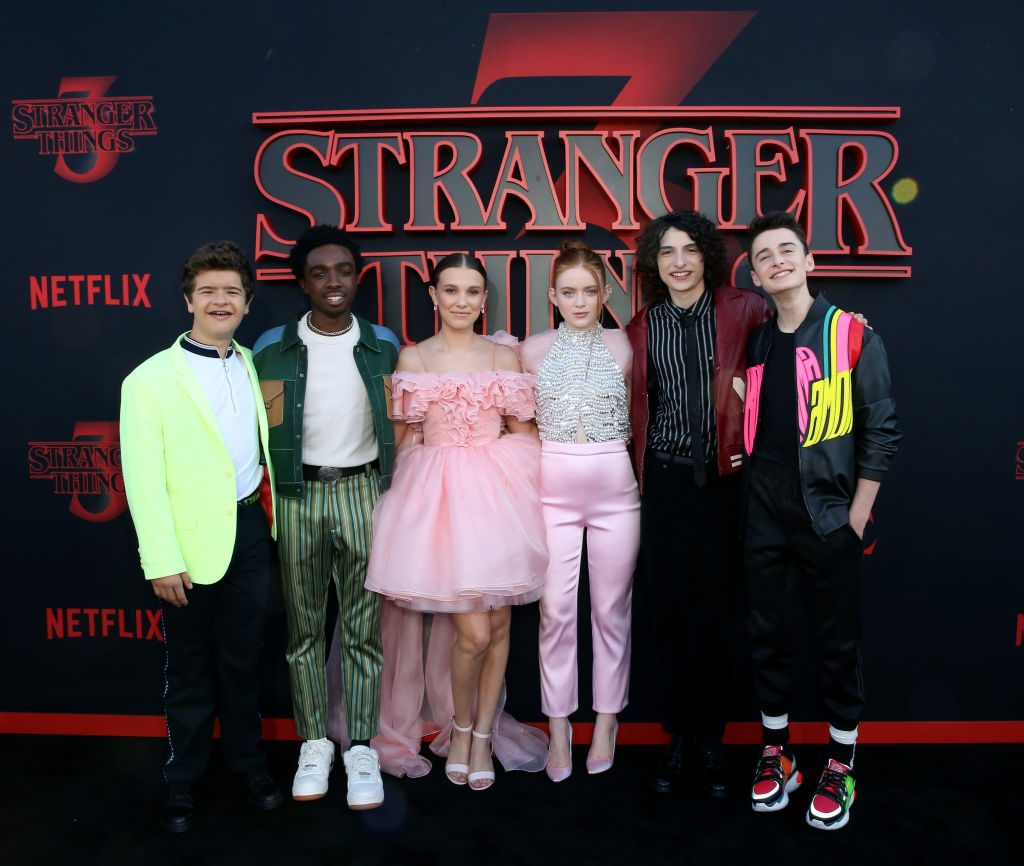 Stranger Things cast |  Rachel Murray/Getty Images for Netflix